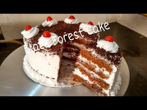 Video Perfect Homemade Eggless Black forest Cake Recipe/Cake For Beginners Tutorial by Somyaskitchen #234