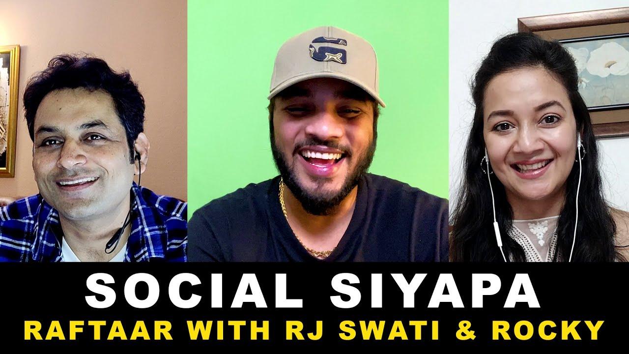 Raftaar In Social siyapa | Rj Swati & Rj Rocky