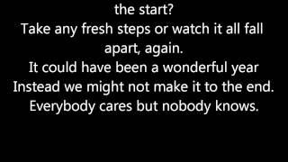Biffy Clyro-Biblical Lyrics