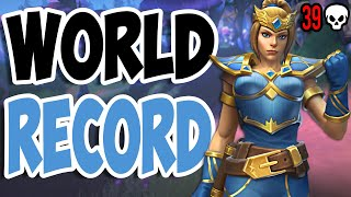 Realm Royale: WORLD RECORD Solo vs. Squads 39 Kill Game PC (Ice Staff Mage)