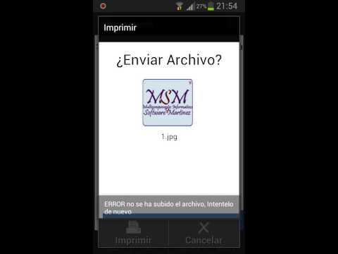 Video of Impresora Android
