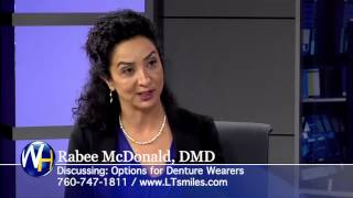 Dr. McDonald - Options for Dentures in North County San Diego