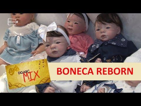 Boneca Reborn atrai público em Diadema