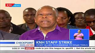KNH staff go on strike over delayed pay