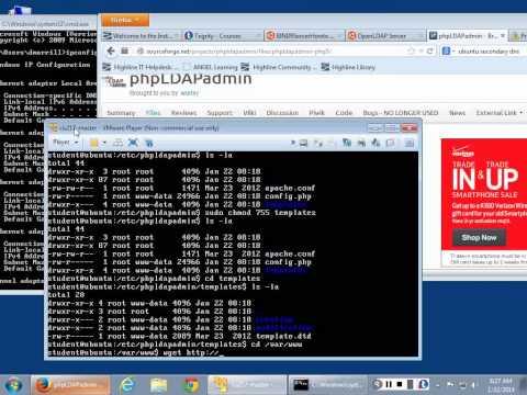 Setting up LDAP in Ubuntu