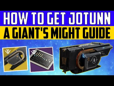 Destiny 2 Shadowkeep - HOW TO GET JOTUNN - A Giant's Might Quest Guide