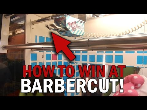 How To Win The Barber Cut Arcade Game | Tips and Tricks