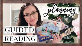 Guided Reading Plan With Me! | 5 Different Groups
