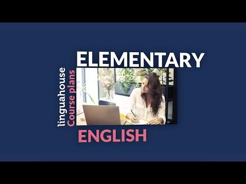 Linguahouse.com Elementary (A1-A2) Course Plan