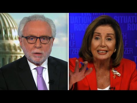 WTF: Nancy Pelosi GOES OFF on Wolf Blitzer in CNN Interview