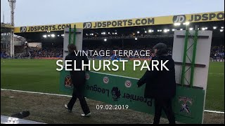 Crystal Palace vs West Ham. Atmosphere and highlights. Derby at Selhurst Park. 09/02/2019