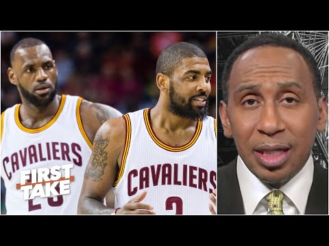 Stephen A. reacts to LeBron saying he's 'hurt' by Kyrie Irving's 'clutch' comments | First Take