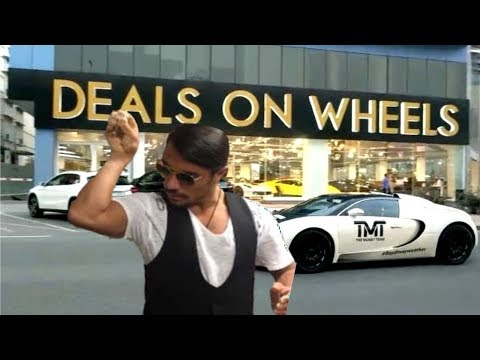 Nusret N Deals On Wheels 🍗🚘 | Dubai 2018