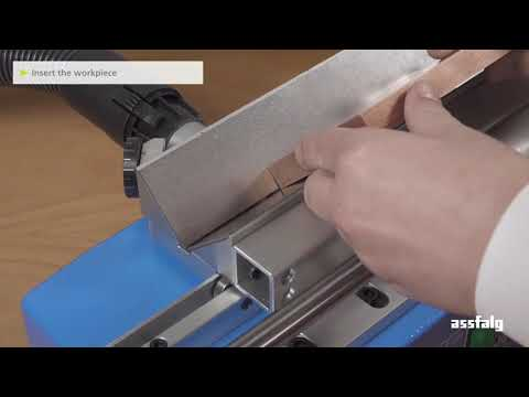 Beveling Machine Speedy Prism with Sliding Carriage - Manual