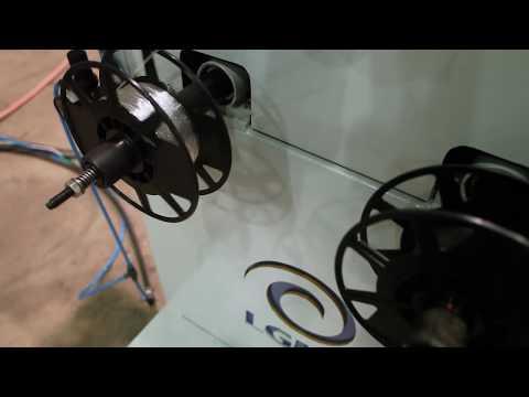 Watch video Linha de Extrusão para Produção de Filamentos published on 2015-08-21T12:40:08.000Z