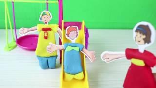 Caillou ve Rosie Park'da Eğleniyorlar - Caillou Türkçe Çizgi Film