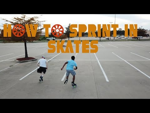 How to Sprint in Skates! (Double D Tutorials)