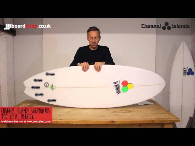 Channel Islands/Al Merrick Pod Surfboard Review