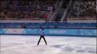 Юзуру Ханю.Фигурное катание. Мужчины, кп, Олимпиада Сочи 2014