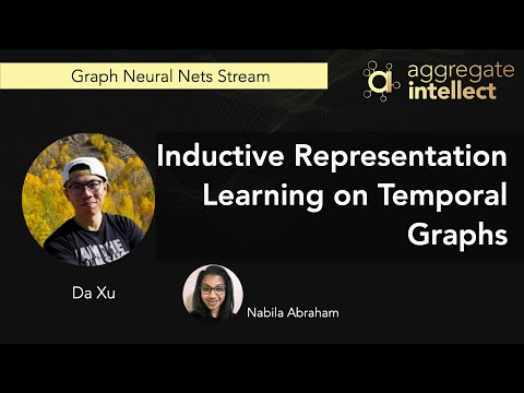 Inductive Representation Learning on Temporal Graphs