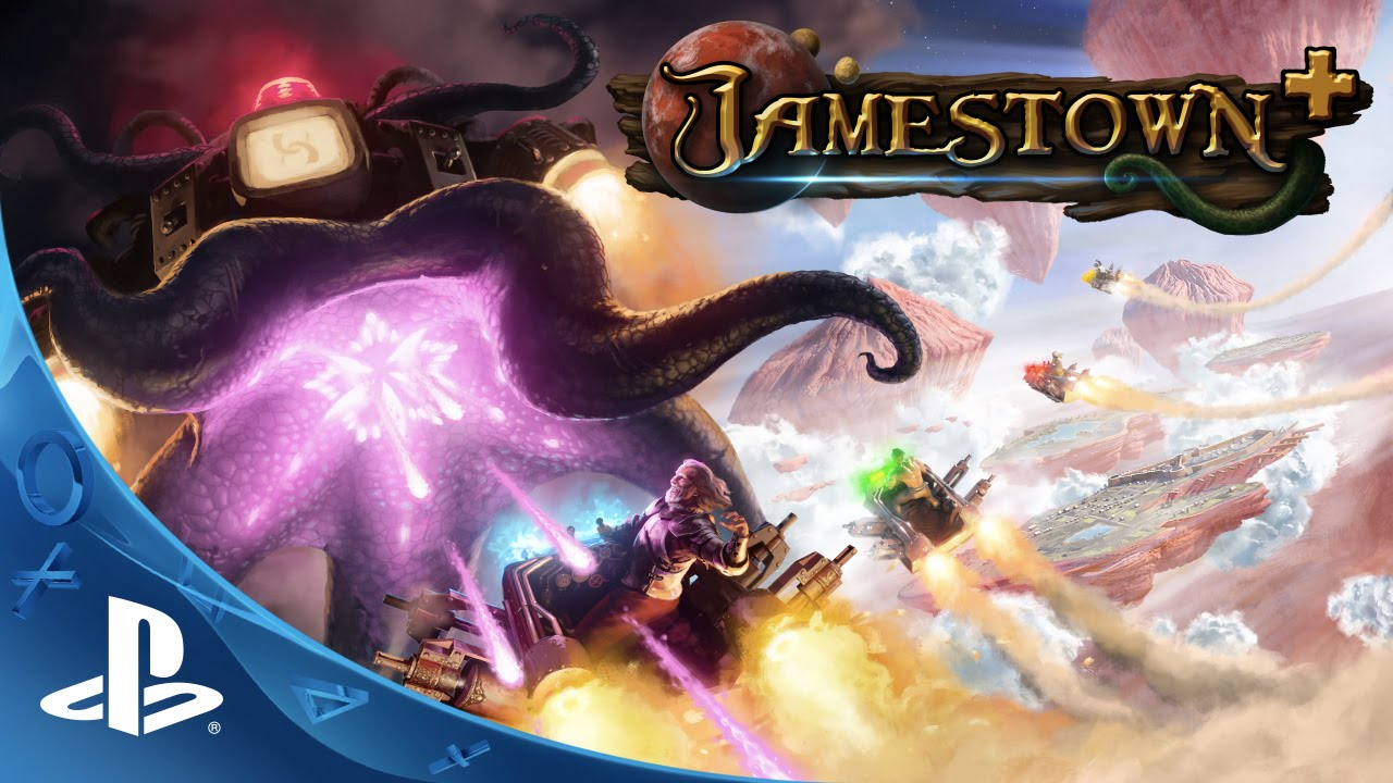 Bullet Hell Shooter Jamestown+ Launches on PS4 Tomorrow