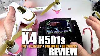 HUBSAN X4 H501s GPS QuadCopter Drone Review - Part 1 - [UnBox, Inspection & Setup]