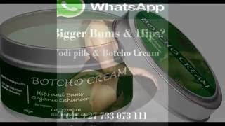 Botcho Cream, Botcho Oil plus, Yodi Pills for Beauty and Bums Enlargement