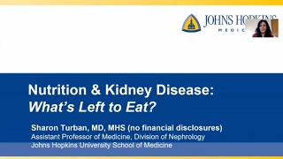 Nutrition and Kidney Disease