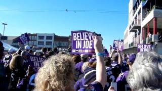Thousands of Baltimore Ravens fans march to Superdome for Super Bowl XLVII WNST 2:52