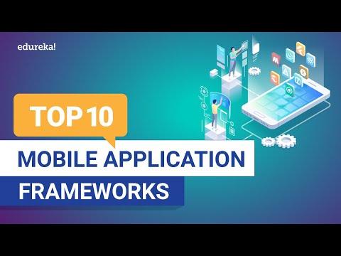 Top 10 Mobile Application Frameworks 2021 | Best Mobile App Development Frameworks | Edureka