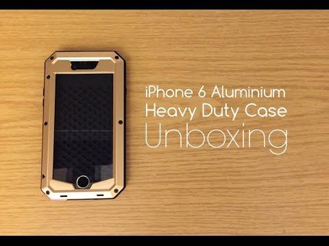 iPhone 6 Aluminium Heavy Duty Case with Gorilla Glass - Unboxing