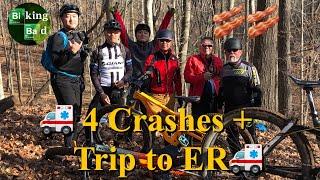 Biking Bad, very bad, at Bacon Ridge