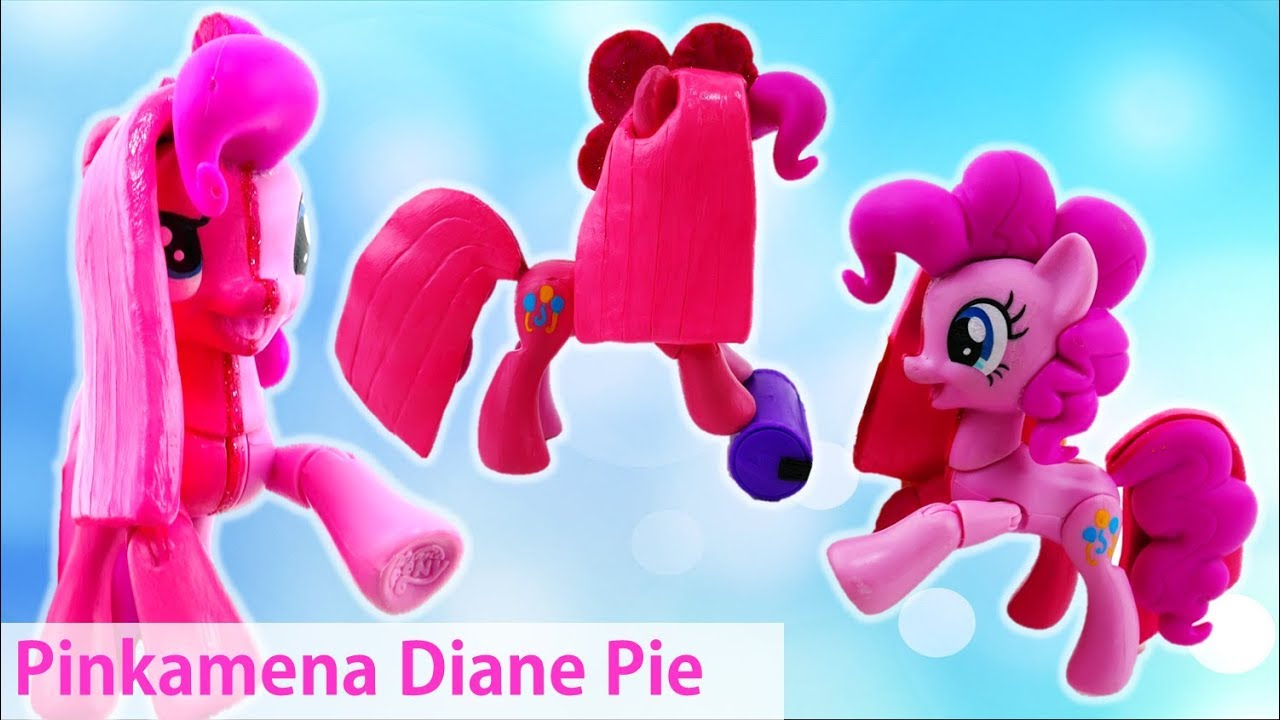 Pinkamena Diane Pie Pinkie Pie Transformation Split My Little Pony Custom