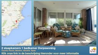 preview picture of video '2 slaapkamers 1 badkamer Dorpswoning te Koop in Country House, Benferri, Alicante, Spain'