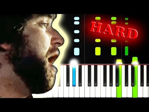 TOTO - AFRICA - Piano Tutorial