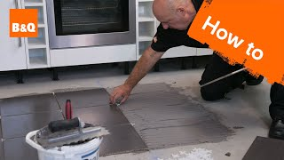 How To Tile A Floor Part 2: Laying The Tiles