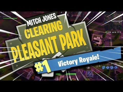 MITCH JONES - HOW TO CLEAR PLEASANT PARK (15 Kill Win)