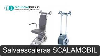 Salvaescaleras SCALAMOBIL - Eliminación Barreras - Exclusivas Iglesias