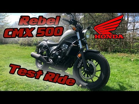Honda CMX500 Rebel Test Ride