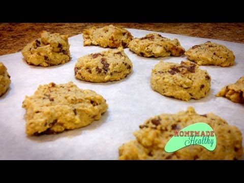 Video Almond Flour Chocolate Chip Cookies,Low Carb, Gluten Free, Wheat Free