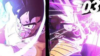 Dragon Ball Z Kakarot - GOKU VS VEGETA IS INSANE! - Part 3