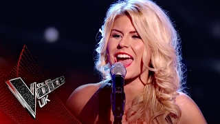 Scarlett Thomas-Perry performs 'Syrup and Honey': Blind Auditions 5 | The Voice UK 2017