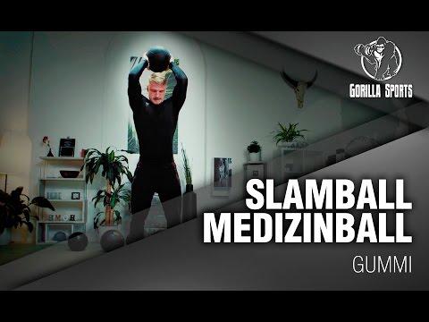 Gorilla Sports Slamball Gummi Medizinball