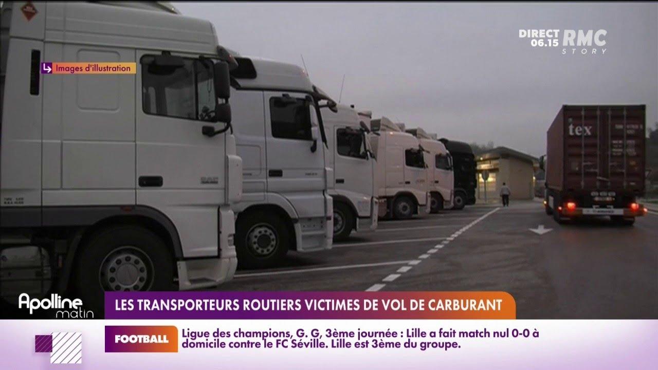 """""""C'est angoissant"""": les routiers pas sereins sur les parkings après la flambée des prix de l'essence"""