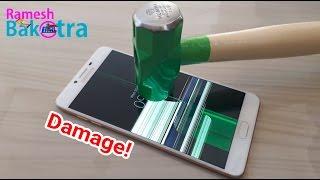 Samsung C9 Pro Screen Scratch Test Gorilla Glass