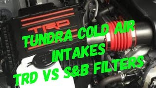 Why I Chose S&B Over TRD For My Tundra