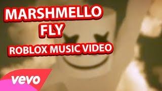 Marshmello    FLY Official Roblox Music Video