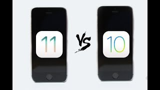 IOS 10.3.3 VS IOS 11 [IPHONE SE ][speed test]