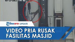 Perusak Fasilitas Masjid di Balikapapan yang Videonya Viral Kini Ditangkap, Motif Belum Diketahui