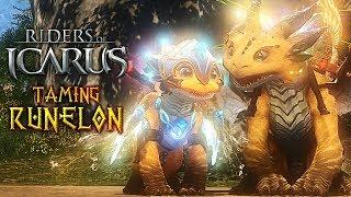 TAMING RUNELON! Riders of Icarus (Legendary Tame)